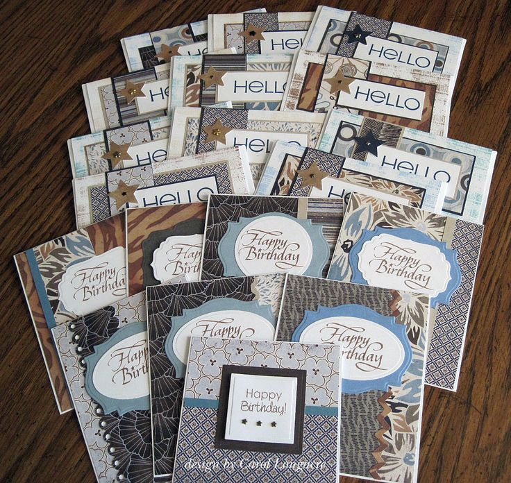 Paper Pads For Card Making Part - 38: Using A Paper Pad (this Pad Is For Masculine Cards And Uses Kristieu0027s  Tutorial For OWH)