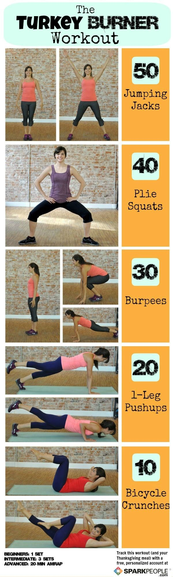 Torch Calories with the Turkey Burner Workout!