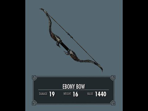 How to get Ebony Bow and Greatsword as a level 1 noob #games #Skyrim #elderscrolls #BE3 #gaming #videogames #Concours #NGC