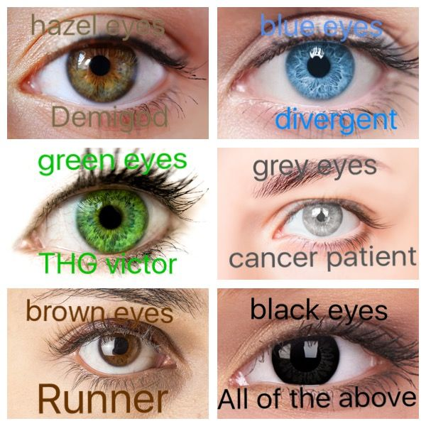 I'm either a runner or a victor, my eyes change color