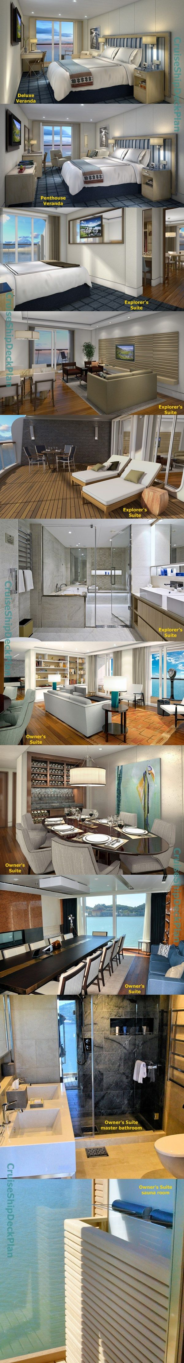 Viking Ocean Cruises Viking Star cabins and suites photos - one unusual perk on Viking is heated bathroom floors! YES!!!!