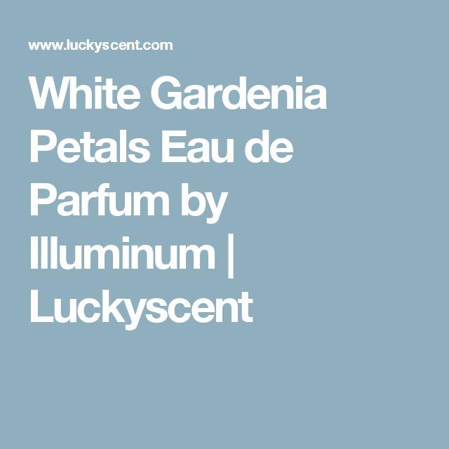 White Gardenia Petals Eau de Parfum by Illuminum | Luckyscent
