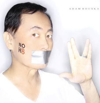 No H8: George Takei, Georgetakei, Equality, Gay, Noh8 Campaigns, Lgbtq Pride, Stars Trek, Noh8 Celebrity, Awesome People