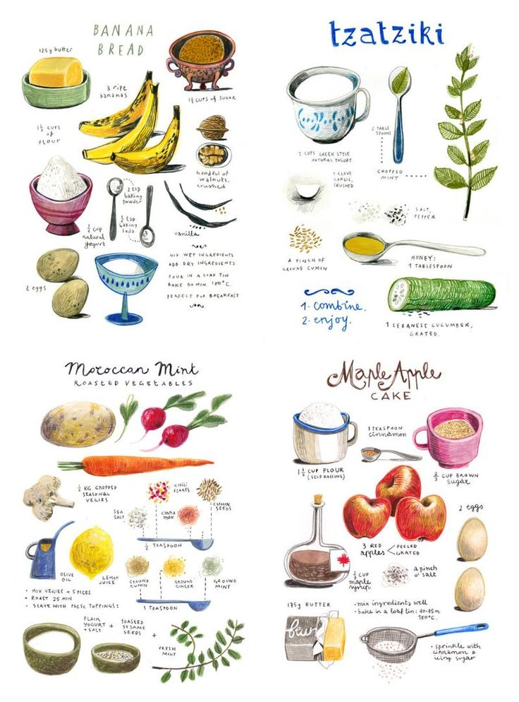 More Illustrated Recipes                                                                                                                                                                                 More