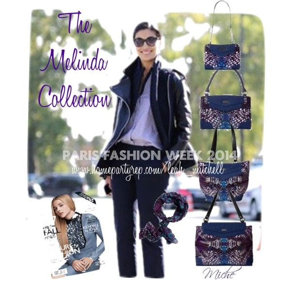 #melinda #michebag #fashion #parisfashionweek #michecanada #flaremagazine