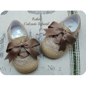 Zapatos niño Calzado infantil, blucher camel Landos
