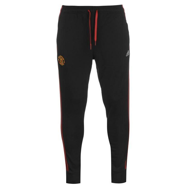 adidas | adidas Manchester United Three Stripe Sweatpants Mens | Casual Football Clothing