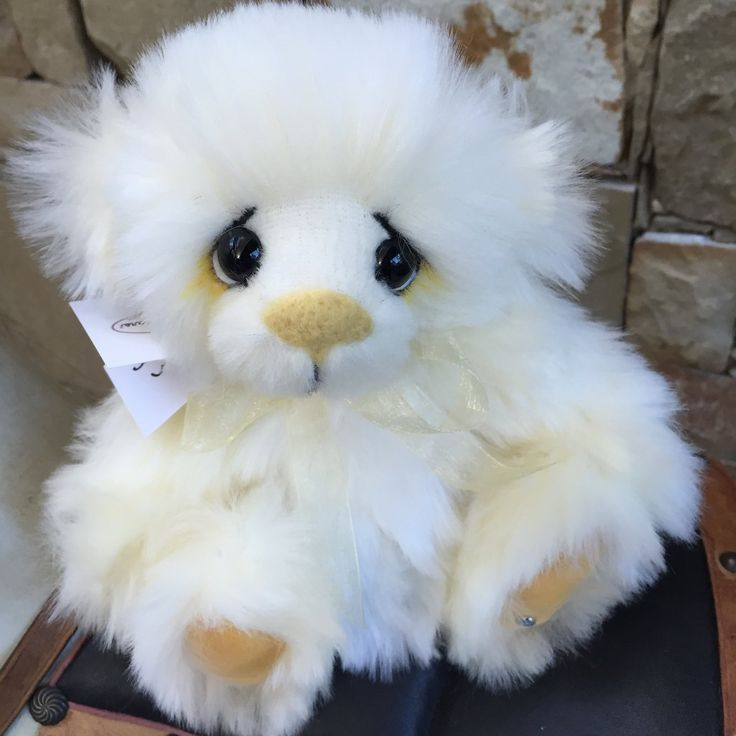 Kaycee Bears Cream Bun Teddy Bear