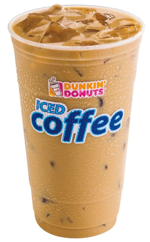 A large iced caramel coffee with cream, no sugar, and extra caramel.