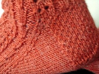 Have a Yarn - Stitch of the Month - Eye of Partridge Heel - March 2009