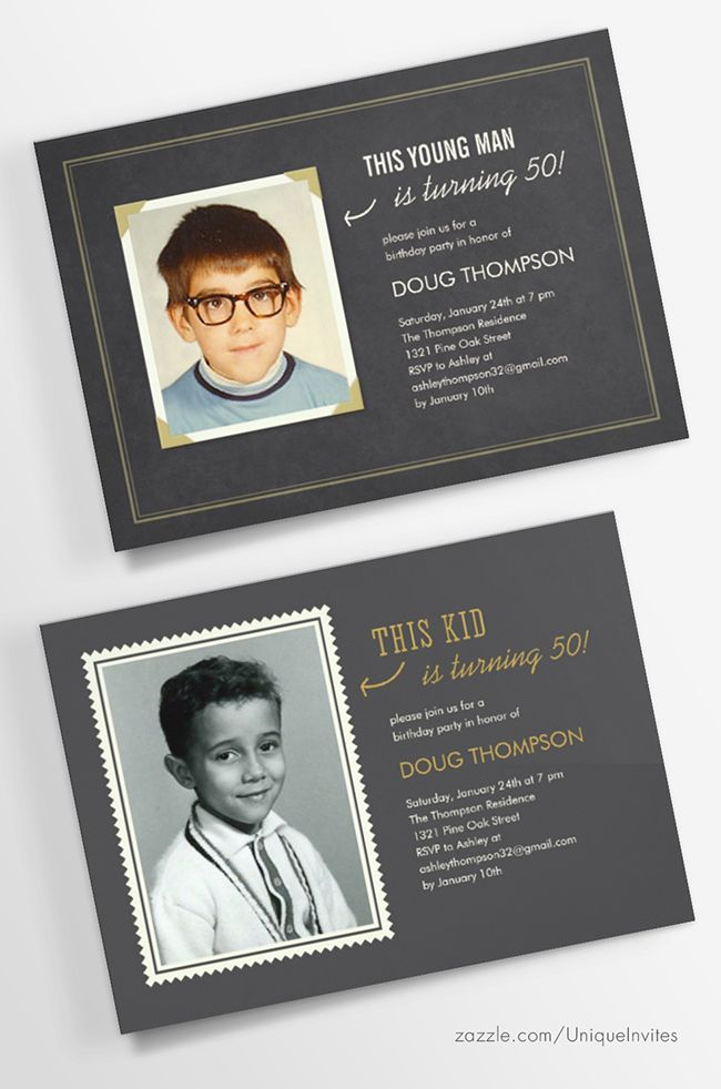 first birthday invitation template india%0A Old photo Birthday party invitations
