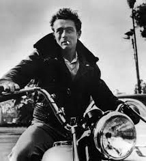 famous harley davidson riders -                 James Dean