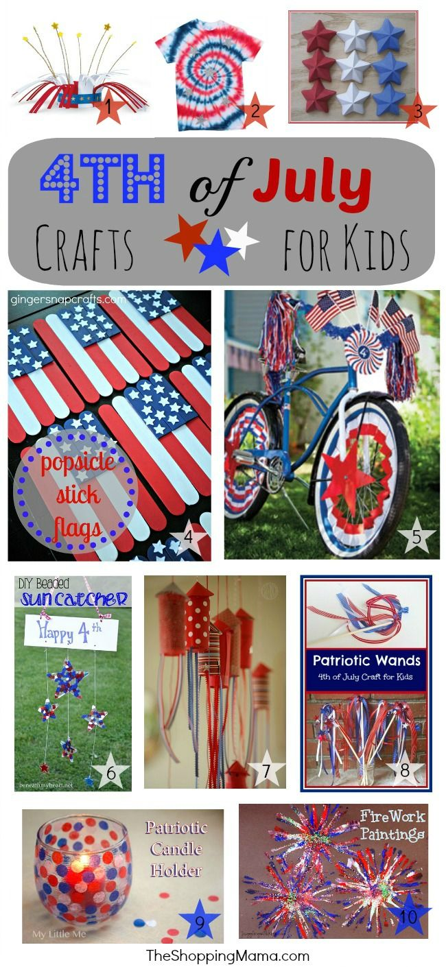 4th of July Crafts for Kids | The Shopping Mama