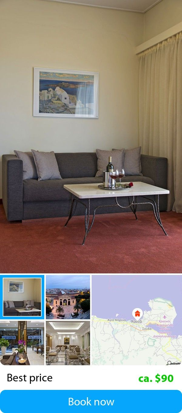 Kydon Hotel (Chania, Greece) – Book this hotel at the cheapest price on sefibo.
