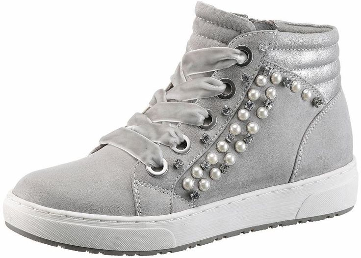 Beautiful MARCO TOZZI Sneaker High in grau bei ABOUT YOU bestellen Versandkostenfrei Zahlung auf