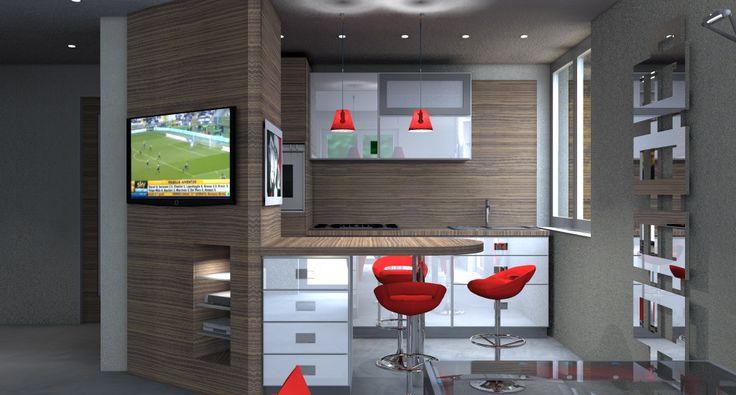 Best Cucina Soggiorno 25 Mq Ideas - Home Interior Ideas ...