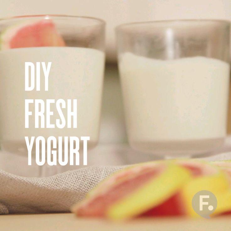 DIY Fresh Yogurt