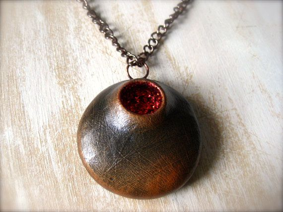 Pod Necklace by OpiumStudios on Etsy, $15.00