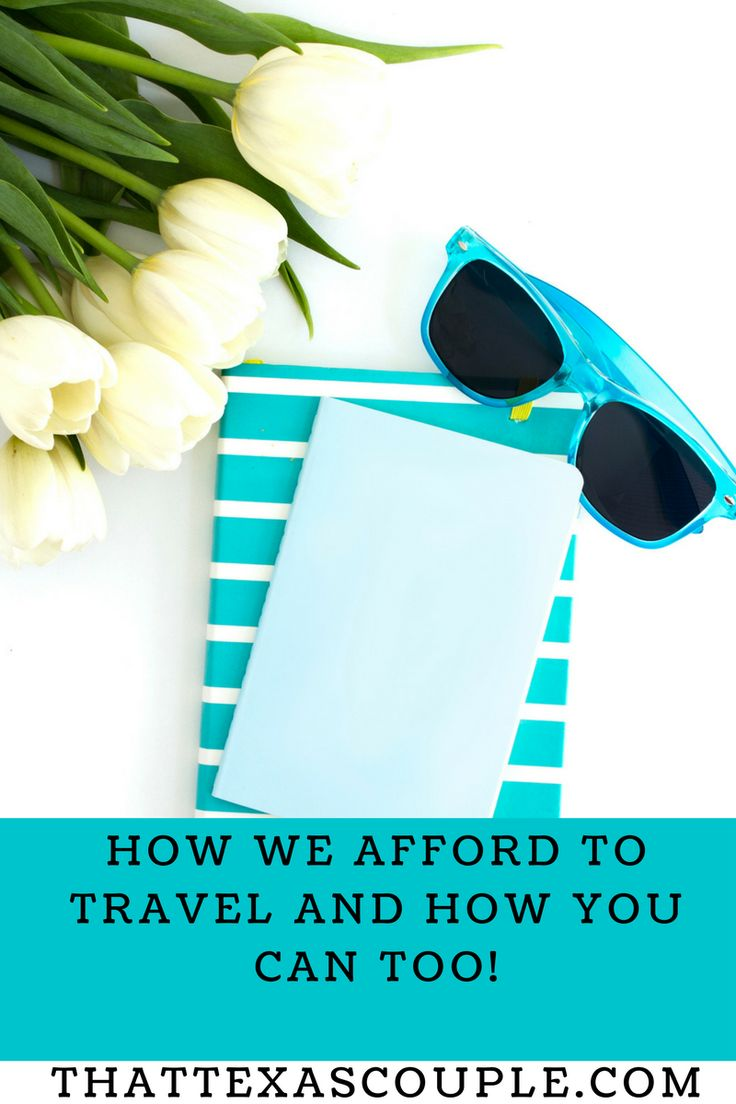 Travel can be expensive!  But don't worry, with a few small adjustments to your spending, you can afford to travel.  This post outlines how small changes make a big difference. travel/budget travel/budget/afford to travel