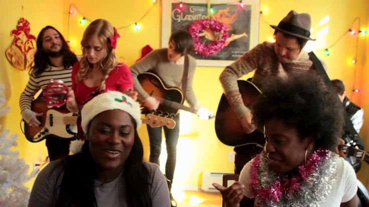 Danielle Brooks - Jolly Christmas Medley (Official Music Video) - combining two things I love - Orange is the New Black and Christmas! Why not!