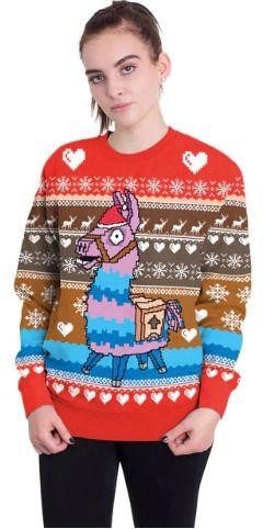 Fortnite Ugly Christmas Sweater Mens Womens Unisex Fortnite