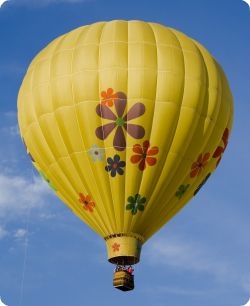 Hot Air Balloon!! groovy...
