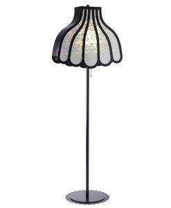 www.popsiclestuff.nl   Floor lamp HOME AT GRANNIES, black