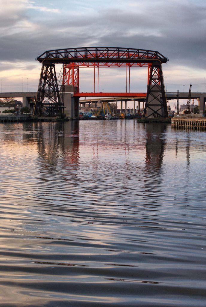 Puente Nicolás Avellaneda- Dock Sur- Bs. As.