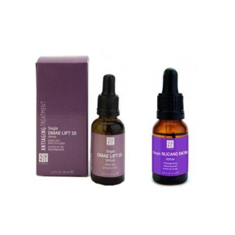 Segle Clinical Kit Tensor Sérum DMAE Lift 10 30 ml y Sérum Glicano Skin 15 ml
