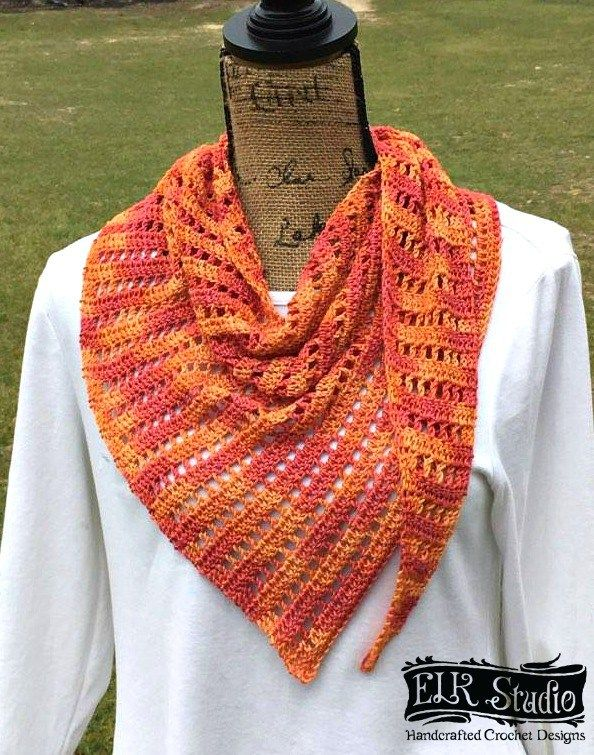 Naturally Southern Scarf - ELK Studio - Handcrafted Crochet Designs