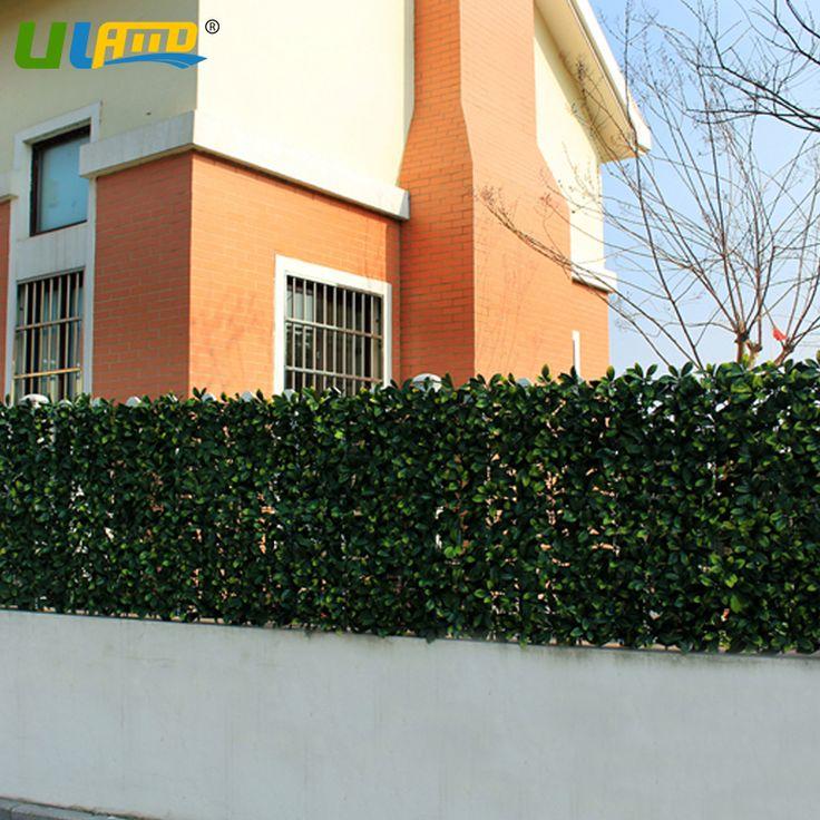 12 шт. 50 x 50 см искусственные растения хедж-триммер ограждения зелень панели пластиковые ограждение сада искусственного конфиденциальности для украшения сада