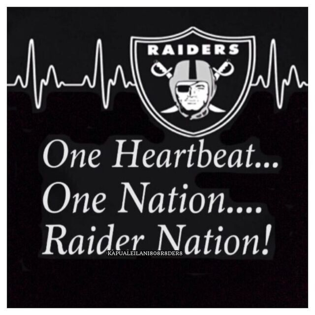 One Nation....Raider Nation