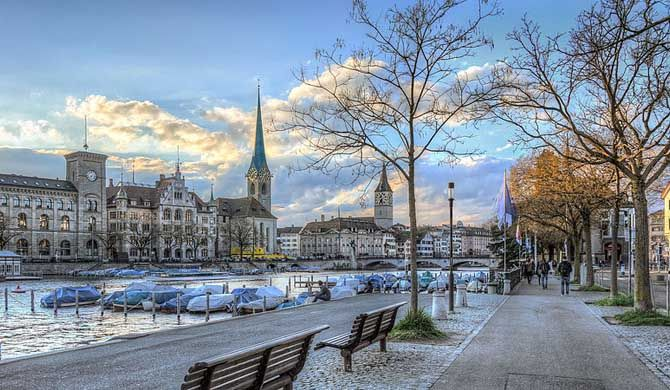 "Altstadt (Zürich) Altstadt (German for ""old town"") in the Swiss city of Zürich encompasses the area of the entire historical city before 1893, before the incorporation of what are now... #Attraction #Landmark  #Backpackers #Hostelman #Travel #Landmark"