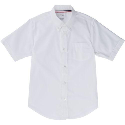 French Toast Boys' Short Sleeve Oxford Shirt (White, Size 12 Husky) - School Uniforms, Boy's Uniform Tops at Academy Sports