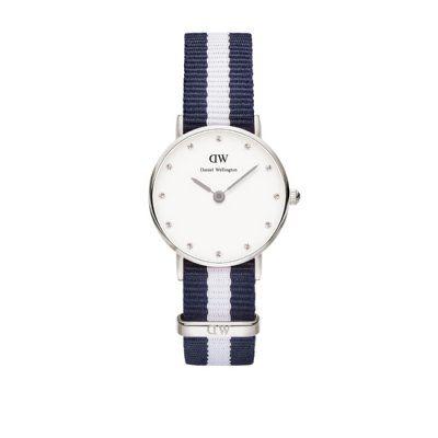 Daniel Wellington - Ladies Classy Glasgow Navy/White Watch - 0928DW - Online Price: £99.00