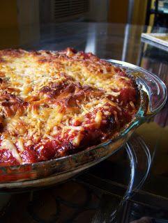 Eggplant Ricotta Bake | Noms - Veggie | Pinterest