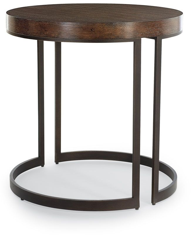 round side tables for living room elements side table bernhardt katz living room 24496