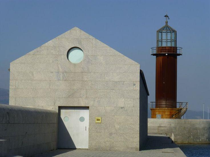 Aldo Rossi's Galician Museum of the Sea in Vigo