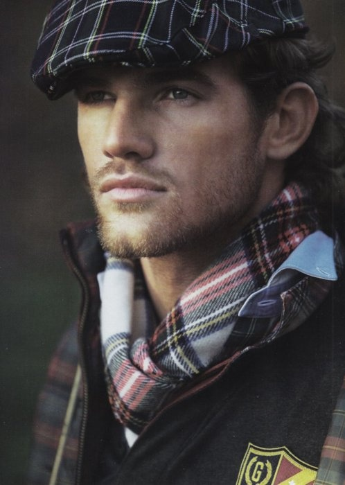 I don't know who he is, but he and his tartan can come and live at MY HOUSE...