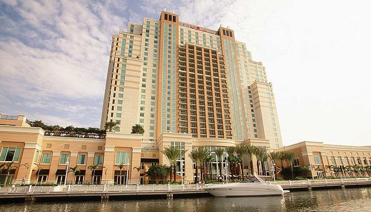 Marriott Waterside in downtown Tampa.  Travel by boat or trolley to local attractions!