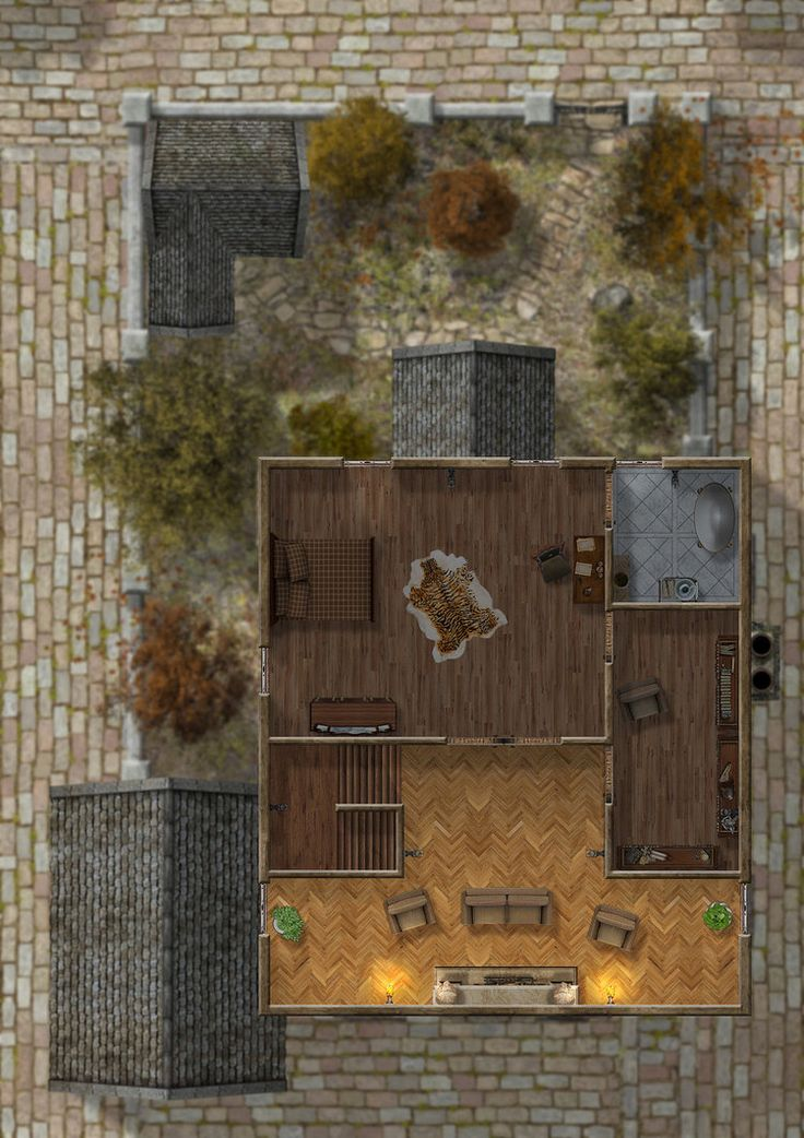 Foxglove Estate Third Floor by hero339 on DeviantArt