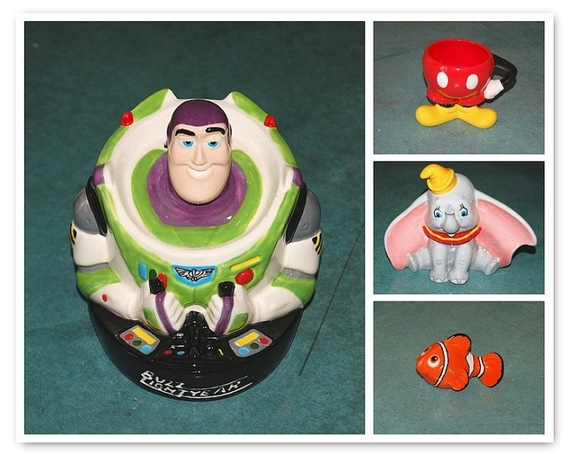 Disney Ceramics, pick and paint ceramics, creativity art studio, http://creativityartstudio.com