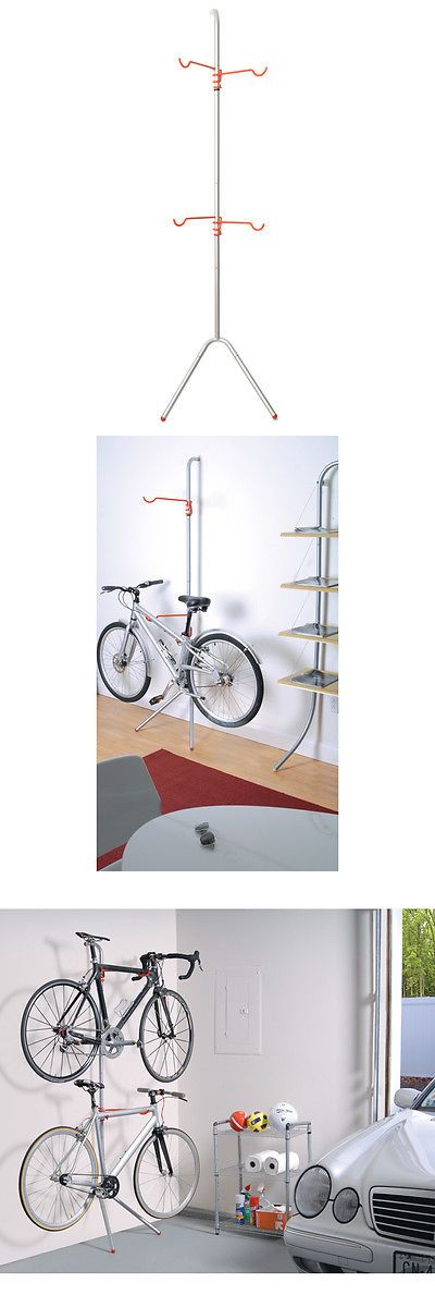 Bicycle Stands and Storage 158997: Delta Design Art Of Storage 2 Bike Freestanding Bike Rack -> BUY IT NOW ONLY: $51.99 on eBay!