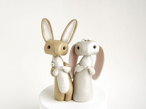 Bunny Rabbit Wedding topper