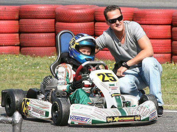 Mick Schumacher Kart