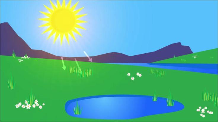 анимация испарение воды отправиться