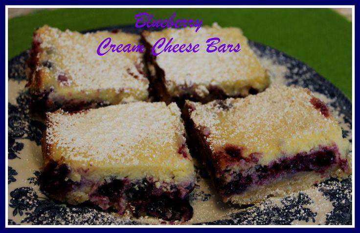 blackberry bars | Different fruit bars | Pinterest