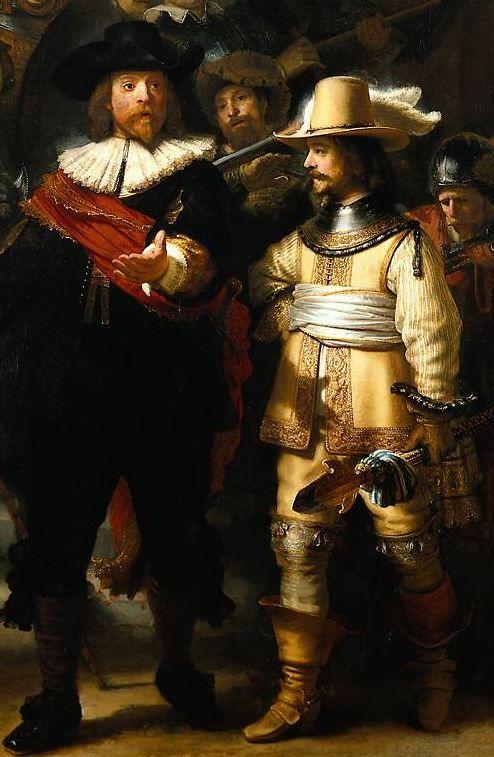 Rembrandt (detail) - The Nightwatch