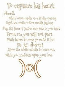 Image result for Wiccan Spells Love