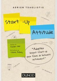 """658.114 TSA """"Parti à la rencontre des créateurs de start-up à travers le monde, l'auteur livre les anecdotes qui ont marqué leurs parcours. A vous de vous en inspirer pour penser différemment, penser comme une start-up !"""" [Fonds Innovation]"""